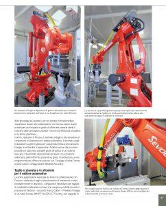 Servizio tecnico Evolut Comau automazione industriale