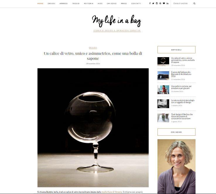 mylifeinabag blogzine