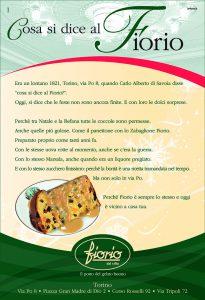 Fiorio Food pubbliredazionale copywriting